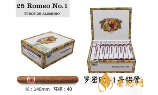 罗密欧1号雪茄怎么样 罗密欧1号雪茄多少钱一支